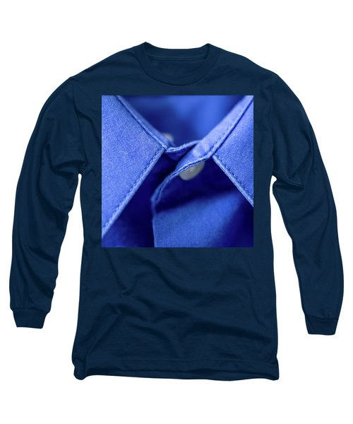Blue Shirt Long Sleeve T-Shirt