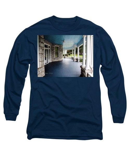 Blue Sky Above Long Sleeve T-Shirt