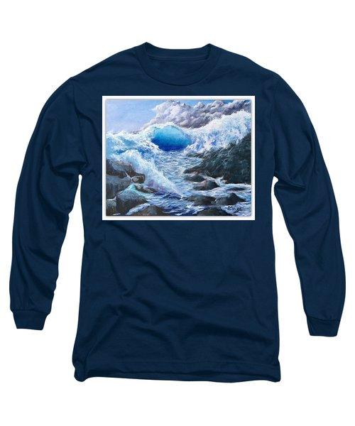 Blue Storm Long Sleeve T-Shirt