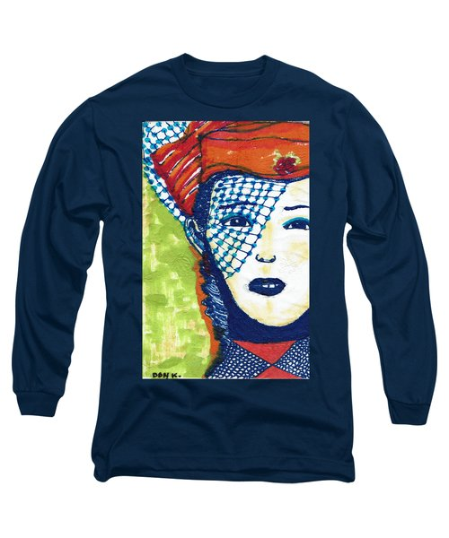 Blue Veil Long Sleeve T-Shirt