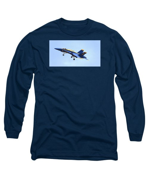 Blues Long Sleeve T-Shirt by Jerry Cahill