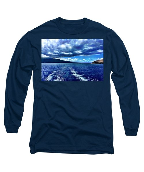 Long Sleeve T-Shirt featuring the photograph Boat View by Michael Albright