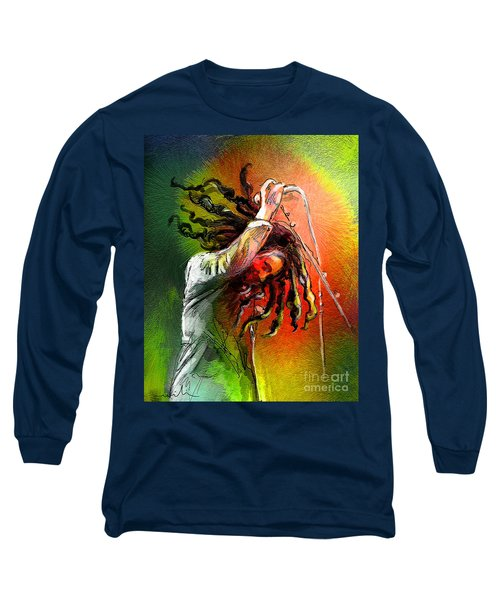 Bob Marley 07 Long Sleeve T-Shirt