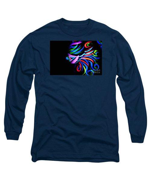 Body Art Breast Long Sleeve T-Shirt