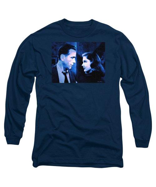 Bogart And Bacall - The Big Sleep Long Sleeve T-Shirt
