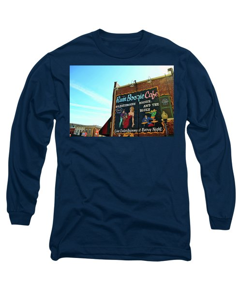 Boogie And Blues Long Sleeve T-Shirt by JAMART Photography