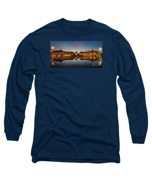 Bordeaux Reflections Long Sleeve T-Shirt