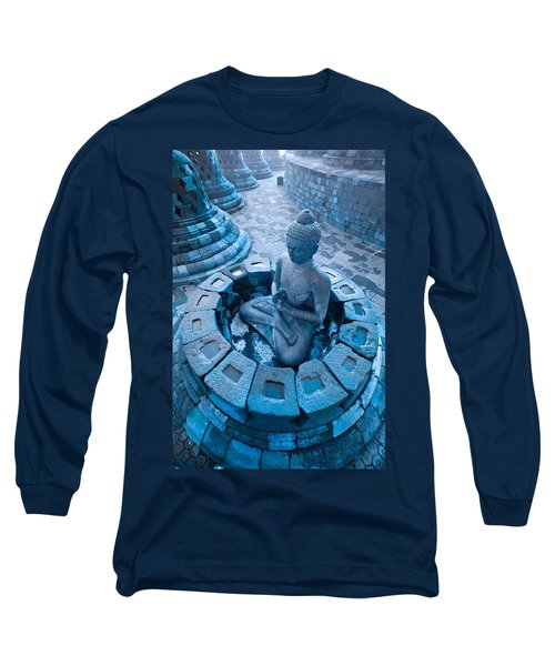 Borobudur Temple Long Sleeve T-Shirt