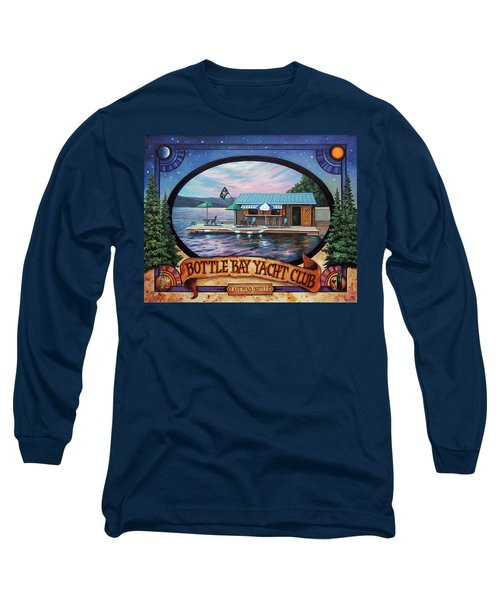 Bottle Bay Yacht Club Long Sleeve T-Shirt