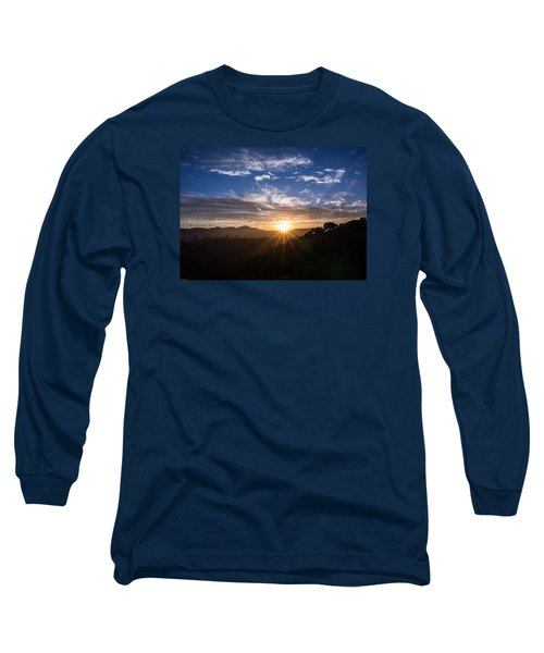 Long Sleeve T-Shirt featuring the photograph Brand New Day  by Jeremy McKay