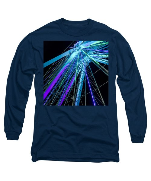 Branson Nightlife Up Close Long Sleeve T-Shirt