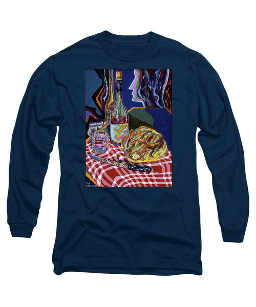 Bread And Wine Of Life Long Sleeve T-Shirt by Robert SORENSEN