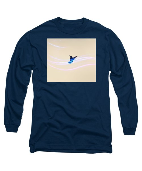 Breeze Wings Long Sleeve T-Shirt by Debra     Vatalaro