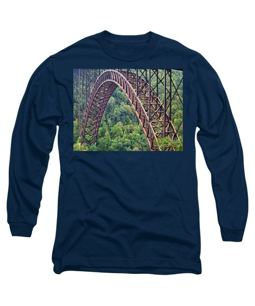 Bridge Of Trees Long Sleeve T-Shirt