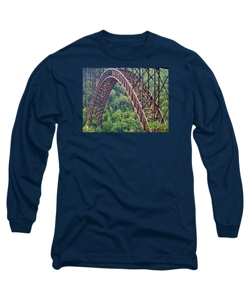 Bridge Of Trees Long Sleeve T-Shirt