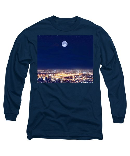 Bright Lights Big City Long Sleeve T-Shirt