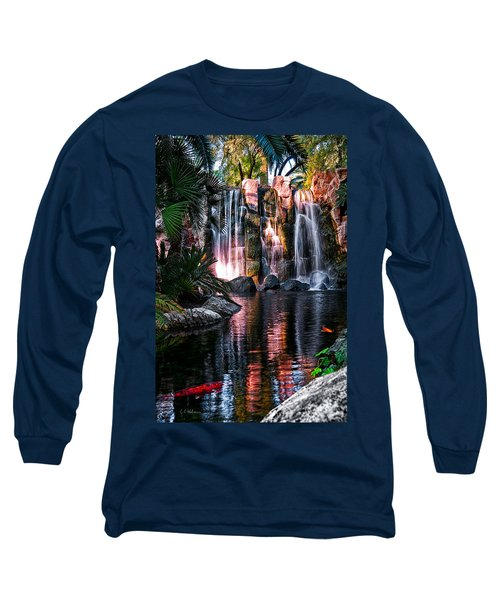 Bright Waterfalls Long Sleeve T-Shirt