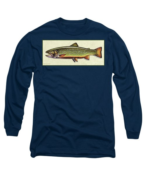 Brook Trout Id Long Sleeve T-Shirt