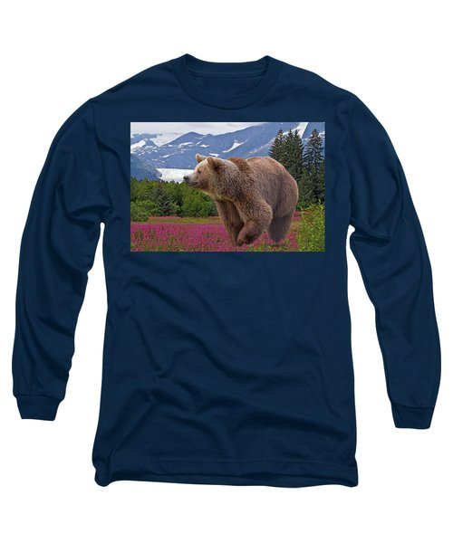 Brown Bear 2 Long Sleeve T-Shirt