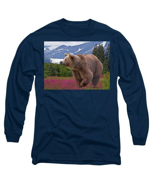Brown Bear 2 Long Sleeve T-Shirt