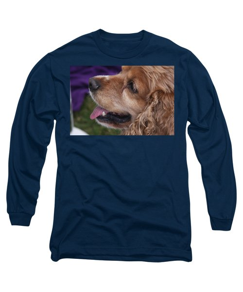 Long Sleeve T-Shirt featuring the photograph Brownie by Vadim Levin
