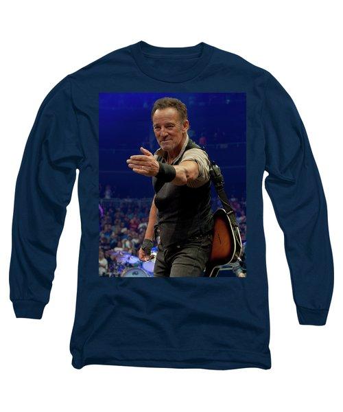 Bruce Springsteen. Pittsburgh, Sept 11, 2016 Long Sleeve T-Shirt
