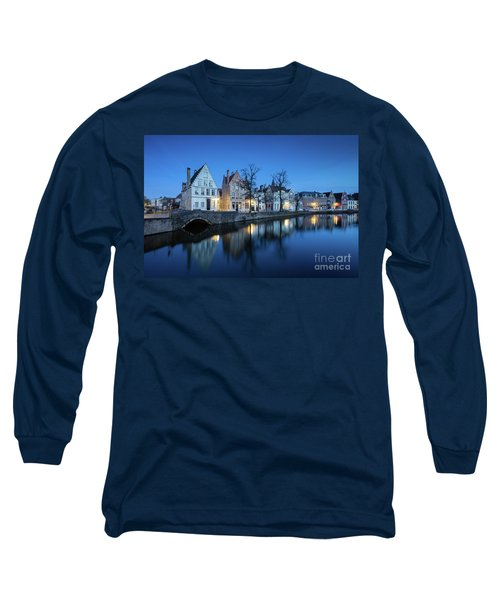 Magical Brugge Long Sleeve T-Shirt by JR Photography