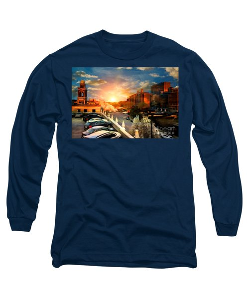 Brush Creek Kansas City Missouri Long Sleeve T-Shirt