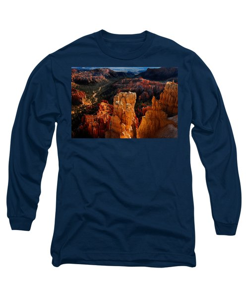 Long Sleeve T-Shirt featuring the photograph Bryce Canyon by Harry Spitz