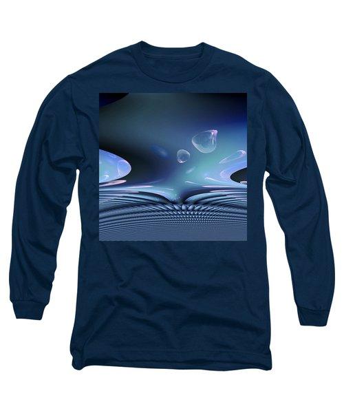 Bubble Abstract Long Sleeve T-Shirt