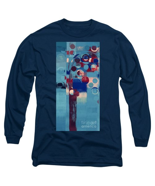 Long Sleeve T-Shirt featuring the painting Bubble Tree - 85l-j4 by Variance Collections