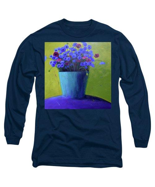 Bucket Of Blue Long Sleeve T-Shirt