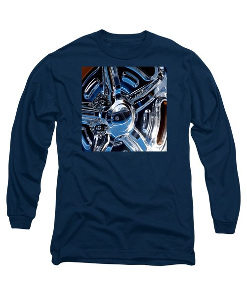 Budnik Wheel 01 Long Sleeve T-Shirt by Rick Piper Photography