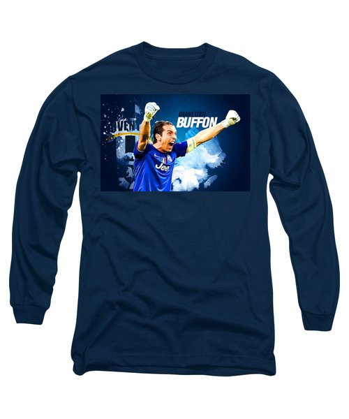 Buffon Long Sleeve T-Shirt by Semih Yurdabak