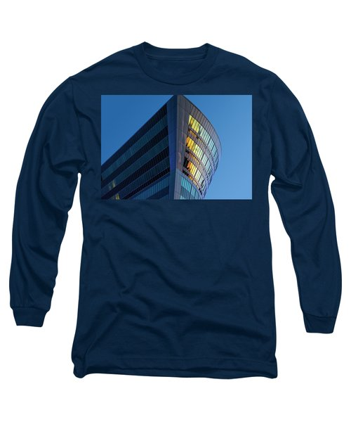 Building Floating In The Sky Long Sleeve T-Shirt