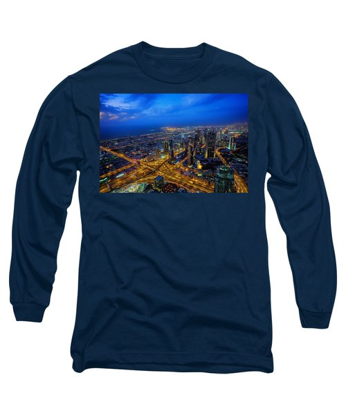 Burj Khalifa View Long Sleeve T-Shirt