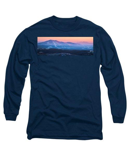 Burke To Moosilauke Long Sleeve T-Shirt by Tim Kirchoff