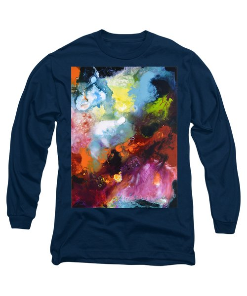 Burst Of Light Three Of Three Long Sleeve T-Shirt