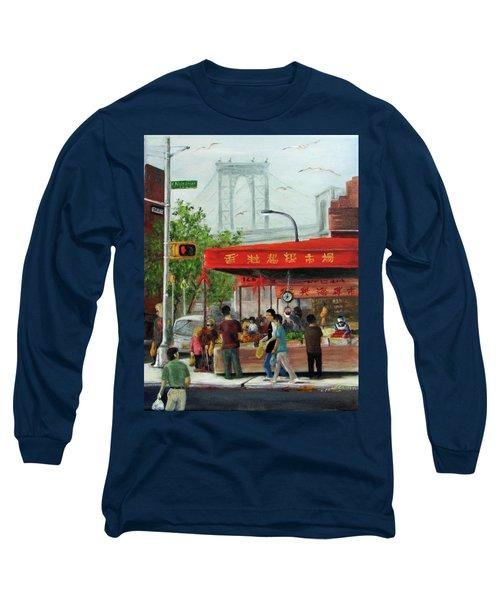 Busy Corner Long Sleeve T-Shirt