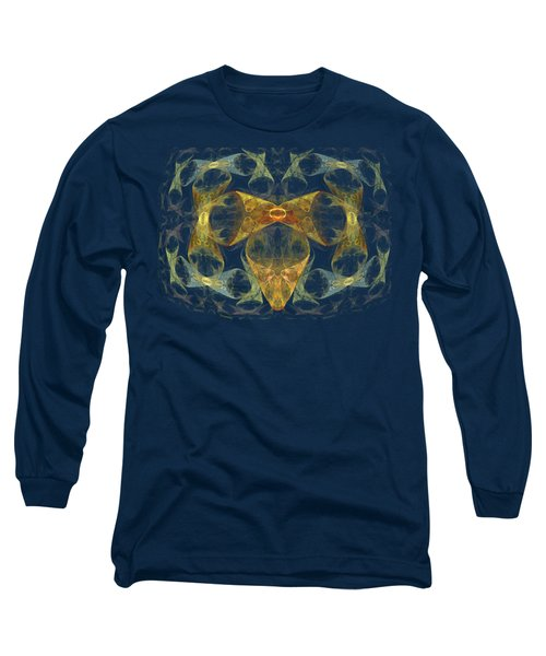 Buttons And Bows Long Sleeve T-Shirt