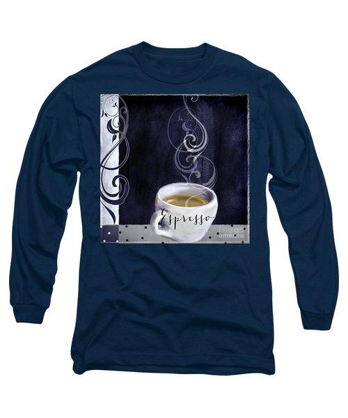 Cafe Blue Iv Long Sleeve T-Shirt