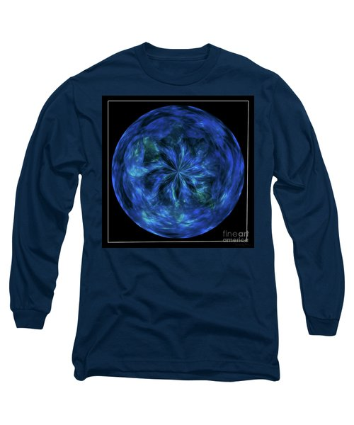 Calming Blue Orb Long Sleeve T-Shirt