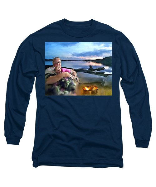 Camping With Grandpa Long Sleeve T-Shirt