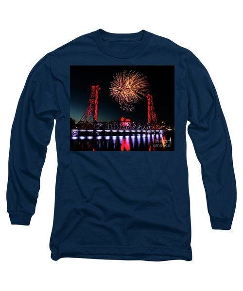 Long Sleeve T-Shirt featuring the photograph Canada Day 2016 by JT Lewis