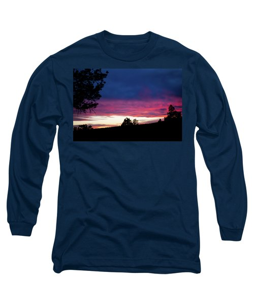 Candy-coated Clouds Long Sleeve T-Shirt by Jason Coward