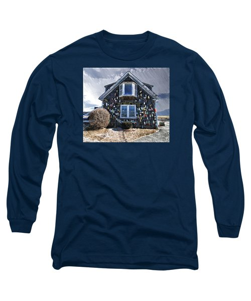 Cape Cod Christmas Bulbs Long Sleeve T-Shirt by Constantine Gregory