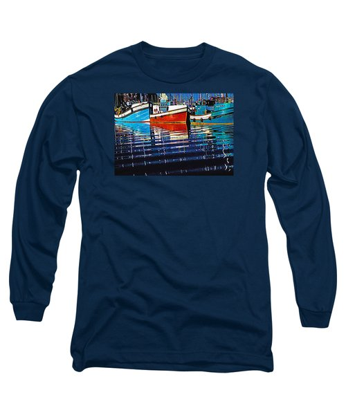 Long Sleeve T-Shirt featuring the photograph Cape Harbour by Dennis Cox WorldViews