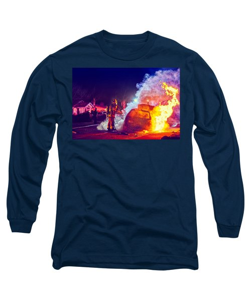 Car Arson  Long Sleeve T-Shirt