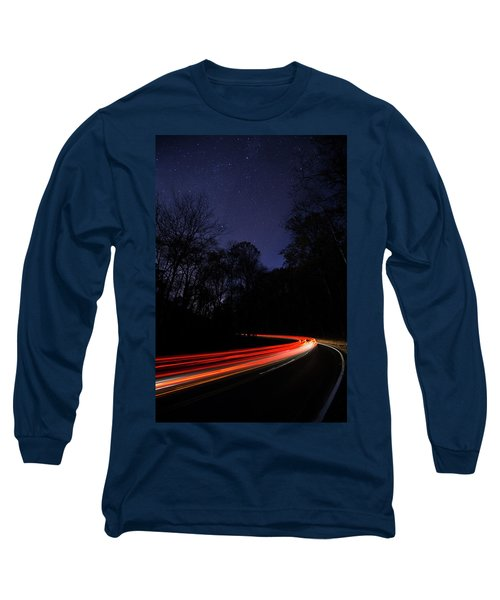 Car Trails Long Sleeve T-Shirt