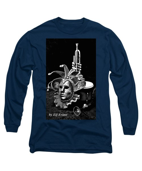Carnival Time Long Sleeve T-Shirt by Elf Evans